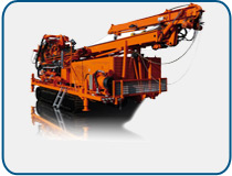 Drilling units, Rotary wash drillings, Core drillings, E+M drilling technologies Berlin - UH2R