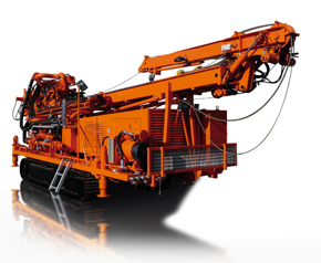 Well drill, caterpillar chassis, uh2r, E+M drilling technologies Berlin - Pic 1