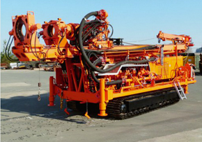 Well drill, caterpillar chassis, uh2r, E+M drilling technologies Berlin - Pic 2