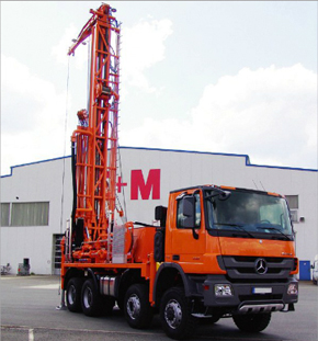 Water well drilling rig, drill water, uh3, E+M drilling technologies Berlin - Pic 2